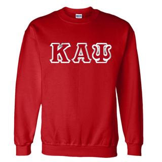 Kappa Alpha Psi Custom Twill Crewneck Sweatshirt