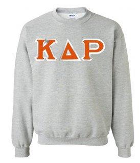 Kappa Delta Rho Custom Twill Crewneck Sweatshirt