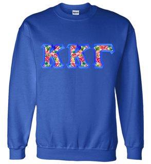 $25 Kappa Kappa Gamma Custom Twill Sweatshirt