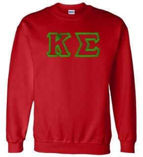 Kappa Sigma Custom Twill Crewneck Sweatshirt
