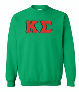 DISCOUNT Kappa Sigma Lettered Crewneck