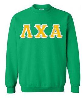 Lambda Chi Alpha Custom Twill Crewneck Sweatshirt