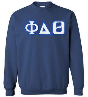 Phi Delta Theta Custom Twill Crewneck Sweatshirt