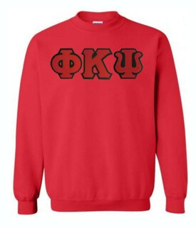 DISCOUNT Phi Kappa Psi Lettered Crewneck
