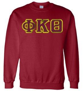 $25 Phi Kappa Theta Custom Twill Crewneck Sweatshirt