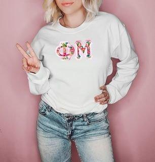 $25 Phi Mu Custom Twill Sweatshirt