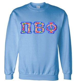 $25 Pi Beta Phi Custom Twill Sweatshirt