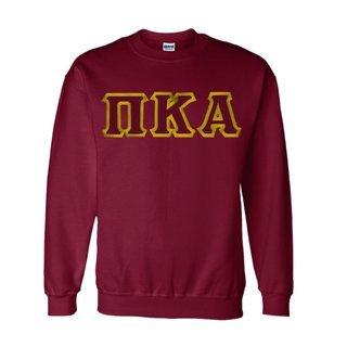 $25 Pi Kappa Alpha Custom Twill Crewneck Sweatshirt