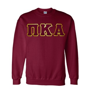 $29.99 Pi Kappa Alpha Lettered Crewneck
