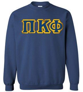 Pi Kappa Phi Custom Twill Crewneck Sweatshirt