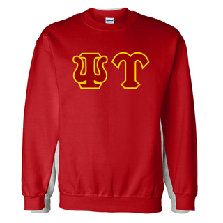 Psi Upsilon Custom Twill Crewneck Sweatshirt