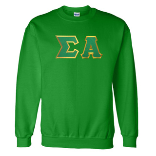 DISCOUNT Sigma Alpha Lettered Crewneck