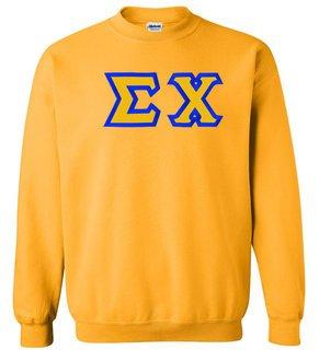 Sigma Chi Custom Twill Crewneck Sweatshirt