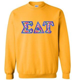 $25 Sigma Delta Tau Custom Twill Sweatshirt