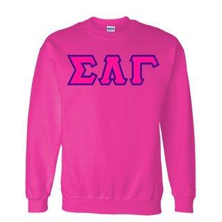 $25 Sigma Lambda Gamma Custom Twill Sweatshirt