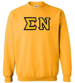 $25 Sigma Nu Custom Twill Crewneck Sweatshirt