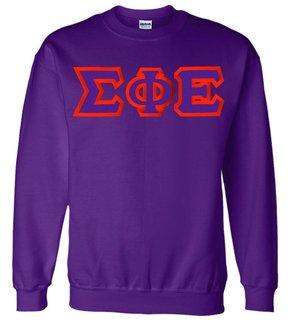 Sigma Phi Epsilon Custom Twill Crewneck Sweatshirt