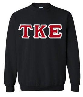 $25 Tau Kappa Epsilon Custom Twill Crewneck Sweatshirt