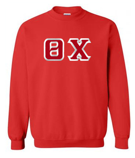 $29.99 Theta Chi Custom Twill Crewneck Sweatshirt
