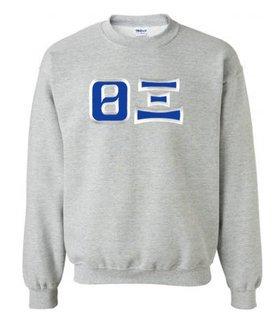 Theta Xi Custom Twill Crewneck Sweatshirt