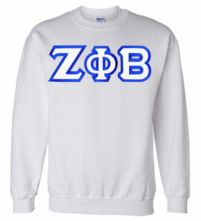 $25 Zeta Phi Beta Custom Twill Sweatshirt