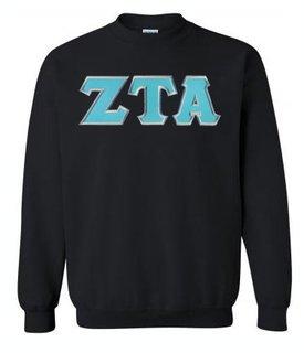 $29.99 Zeta Tau Alpha Lettered Crewneck