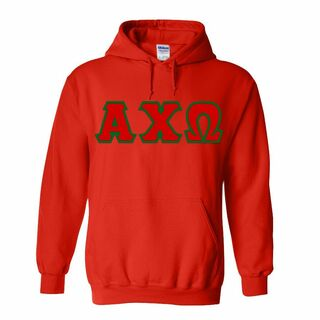 DISCOUNT Alpha Chi Omega Lettered Hooded