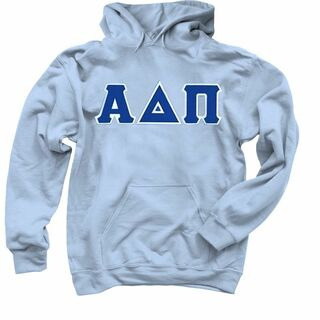 DISCOUNT Alpha Delta Pi Lettered Hooded