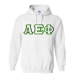 Alpha Epsilon Phi Custom Twill Hooded Sweatshirt