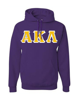 $39.99 Alpha Kappa Lambda Custom Twill Hooded Sweatshirt