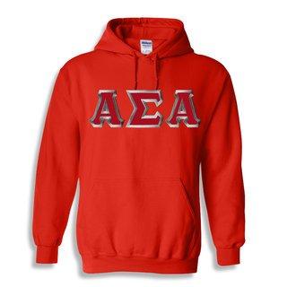 Alpha Sigma Alpha Custom Twill Hooded Sweatshirt