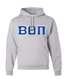 Beta Theta Pi Custom Twill Hooded Sweatshirt
