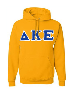 Delta Kappa Epsilon Custom Twill Hooded Sweatshirt