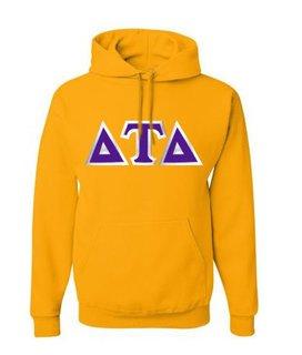 Delta Tau Delta Custom Twill Hooded Sweatshirt