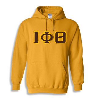 $30 Iota Phi Theta Custom Twill Hooded Sweatshirt