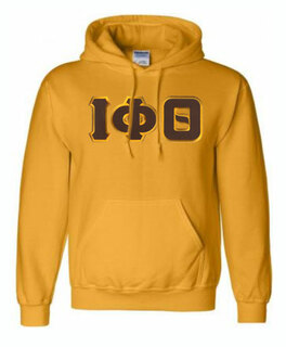DISCOUNT Iota Phi Theta Lettered Hooded Sweatshirt