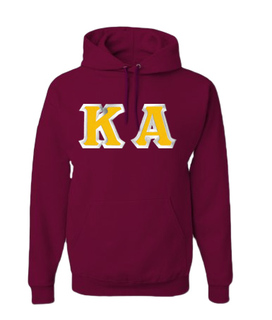 Kappa Alpha Custom Twill Hooded Sweatshirt