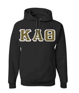 Kappa Alpha Theta Custom Twill Hooded Sweatshirt