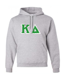 Kappa Delta Custom Twill Hooded Sweatshirt