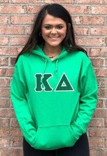$39.99 Kappa Delta Lettered Hooded Sweatshirt
