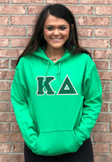 DISCOUNT Kappa Delta Lettered Hooded Sweatshirt