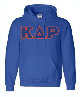 DISCOUNT Kappa Delta Rho Lettered Hooded Sweatshirt