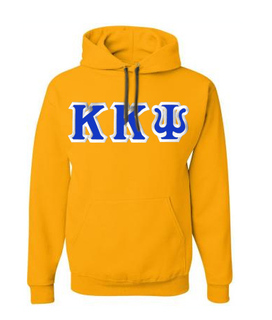 Kappa Kappa Psi Custom Twill Hooded Sweatshirt