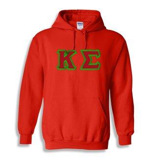 Kappa Sigma Custom Twill Hooded Sweatshirt
