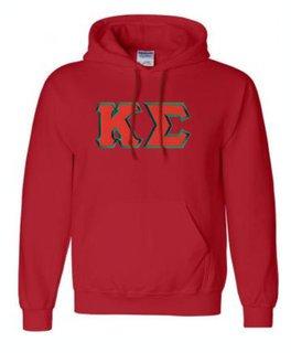 DISCOUNT Kappa Sigma Lettered Hooded Sweatshirt