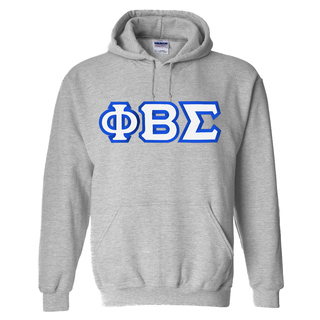 Phi Beta Sigma Custom Twill Hooded Sweatshirt