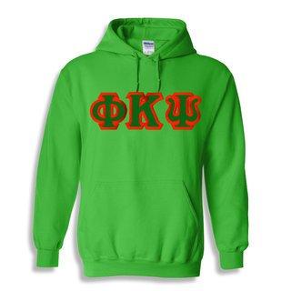 $30 Phi Kappa Psi Custom Twill Hooded Sweatshirt