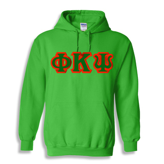 Phi Kappa Psi Custom Twill Hooded Sweatshirt