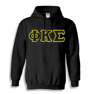Phi Kappa Sigma Custom Twill Hooded Sweatshirt