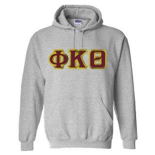 $30 Phi Kappa Theta Custom Twill Hooded Sweatshirt